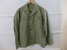#02 US ARMY USMC WW2 / Vietnam HBT Feldjacke Feldhemd Drillich Uniform Twill