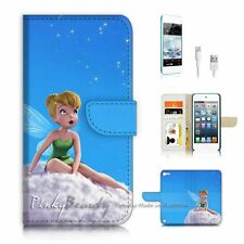 iPod Touch 5 iTouch 5 Flip Wallet Case Cover P3240 TinkerBell