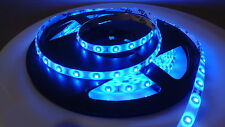 24V 5M BLUE LED SMD STRIP ROPE RIBBON BRIGHT LIGHT WATERPROOF GARAGE KITCHEN