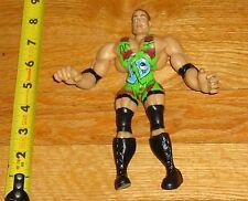 2003 WWF WWE Jakks RVD Rob Van Dam Flex Em Wrestling Figure ECW Green Singlet