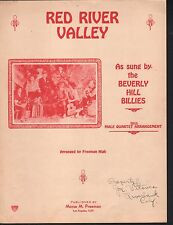 Red River Valley 1930 The Beverly Hill Billies