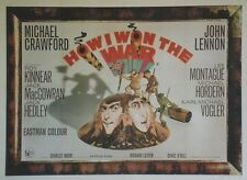 """COMMENT J'AI GAGNE LA GUERRE (HOW I WON THE WAR)"" Affiche John LENNON, BEATLES"