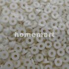 100PCS TO-3P TO-247 White 3MM M3 Plastic Washer Insulation silicone Bushing NEW