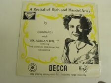 Kathleen Ferrier - A Recital Of Bach And Handel Arias - LP