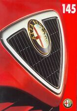 Alfa Romeo 145 Preisliste 10/98 price list 1998 Autopreisliste Auto PKWs Italien