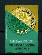 Cape Verde 2016 MNH AME Cabo Verde Transatlantic Music Festival 1v Set Stamps