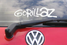 "8"" GORILLAZ Vinyl car sticker/decal - music CD T Shirt"