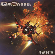 GUN BARREL-POWER-DIVE-CD-motorhead-heavy-power-ac/dc
