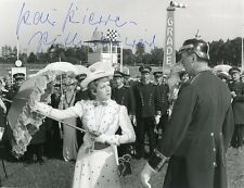 AUTOGRAPHE SUR PHOTO ORIGINALE de Ruth LEUWERIK (Collection Pierre Goulliard)