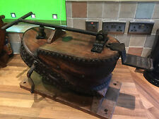 Antique 19th c Siebe Gorman Diving Air Bellows Maritime Nautical Marine Ships