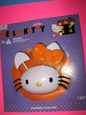 HELLO KITTY PUMPKINS PUSH-INS HALLOWEEN BRAND NEW