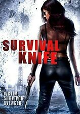 Survival Knife (2016, REGION 1 DVD New)