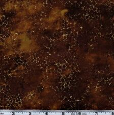 Northcott Artisan Spirit Metallic 20259 360 Gold Honeycomb On Brown By The Yard