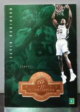 David Robinson 98-99 SP× Finite excellence #204 serially numbered 0693/1770