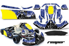 AMR Racing Graphics CRG NA2 Kart Wrap New Age Sticker Decal Kit REAPER BLUE