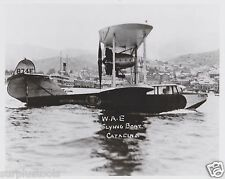 WESTERN AIRLINES  BOEING 204 FLYING BOAT 1928 - BLACK & WHITE 8 X 10