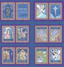 Springs Jim Shore Collection 2016 - 61509 Oh Holy Night Book Panel Cotton Fabric