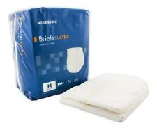 96 - Adult Disposable  HEAVY ABSORBENCY Ultra Brief Diaper, Medium - Full Case