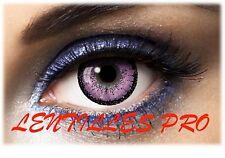 lentilles de couleur  big eyes 15Mn violet 1 ans utilisation   contact lenses