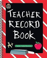 Teacher Record Book by Teacher Created Resources Staff (1997, Paperback, New...