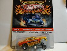 "Hot Wheels Drag Strip Demons Gary Densham's ""Teachers Pet"" Challenger"