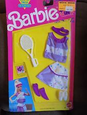 VINTAGE BARBIE 1991 Sporting Life FASHION MOC CLOTHES #662 Tennis Outfit