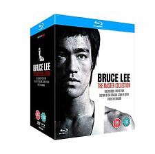 BRUCE LEE THE MASTER COLLECTION BLU RAY BOX SET NEW UK RELEASE