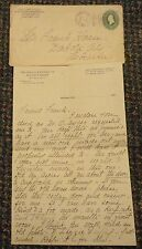 1897 Madison Wiscon Wells & Briggs Co Wholesale Grocers letterhead Helen Weeks