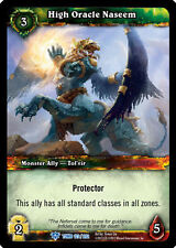 WOW WARCRAFT TCG TOMB OF THE FORGOTTEN : HIGH ORACLE NASEEM X 3