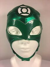 GREEN LANTERN -KIDS SIZE- LUCHADOR/WRESTLER MASK! AWESOME, HIGH QUALITY MATERIAL