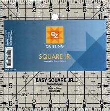 SIMPLI-EZ QUILTING ACRYLIC TEMPLATE EASY SQUARE JR RULER 882670142A