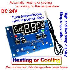 DC 24V 10A Intelligent Digital Anzeigen Thermostat Temperature Controller Switch