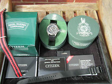 Citizen Marina Real Commando Royal Navy buzos 300M Titanio Eco Drive En Caja