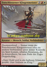 2x Entschlossener Klingenmeister (Resolute Blademaster) Battle for Zendikar Magi