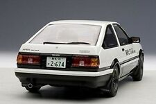 New Initial D Toyota Sprinter Trueno AE86 Legend 1 Project D Version 1:18 Scale