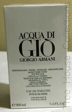 Treehousecollections: Acqua Di Gio By Armani EDT Tester Perfume For Men 100ml