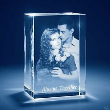 Christmas 3D Laser Crystal Personalized Engrave Gift X-Large Tower Shape