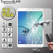 "2 Pack Tempered Glass Screen Protector for Samsung Tab S2 8"" T710 T715 Tablet"