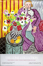 Henri MATISSE Purple Robe and Anemones 1985 LACMA Poster