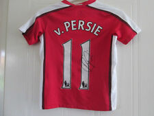 Robin Van Persie Signed Arsenal Home Football Shirt with COA /35657