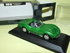 CHEVROLET CORVETTE 1969 Vert NEW RAY