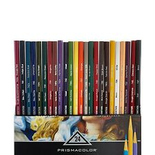 Prismacolor Premier Verithin Colored Pencils, 24-Count 2427 Richly saturated NEW
