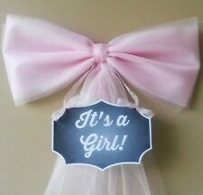 Girl Baby Shower Decoration, Hospital Door Decoration,Birth Announcment