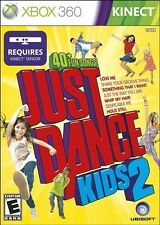 XBOX 360 KINECT GAME JUST DANCE KIDS 2 BRAND NEW & FACTORY SEALED