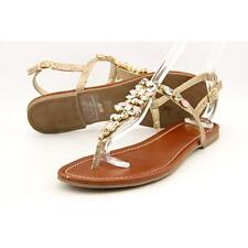 G By Guess Leesure Women US 8.5 Gold Slingback Sandal Pre Owned  1184