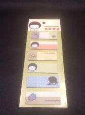 *Vintage Style Mini Manga Themed Post-it Notes*