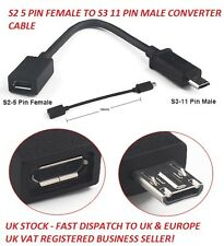 Micro USB Galaxy S2 i9100 to S3 S4 11p i9300 Note2 N7100 Cable for MHL HDMI TV