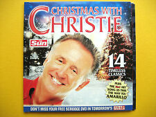 CHRISTMAS WITH CHRISTIE , CD, A THE SUN NEWSPAPER PROMOTION (1 CD)