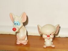 Pinky and the Brain (Animaniacs) PVC Figures / cake toppers  made in 1996