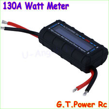 GT Power LCD RC 130A Watt Meter Power Analyzer Watts Up Battery Balance Ampere